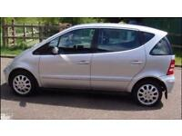 2004 private reg MERCEDES A160 CDI ELEGANCE DIESEL ONLY 45000 MILES FSH ALL EXTRAS MOT 1 YEAR P/X