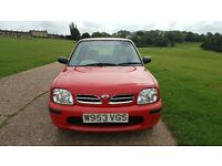 Automatic Nissan Micra 1.0 Litre Low Mileage Long MOT