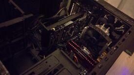 Gaming / Video Editing PC - i5 4590 , 8gb corsair vengence , gtx 1060 (runs any game high settings)