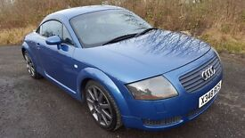 L@@K AUDI TT 225BHP **6 SPEED**12 MONTHS MOT**Part-History**Great Driver**Part Ex Welcome**