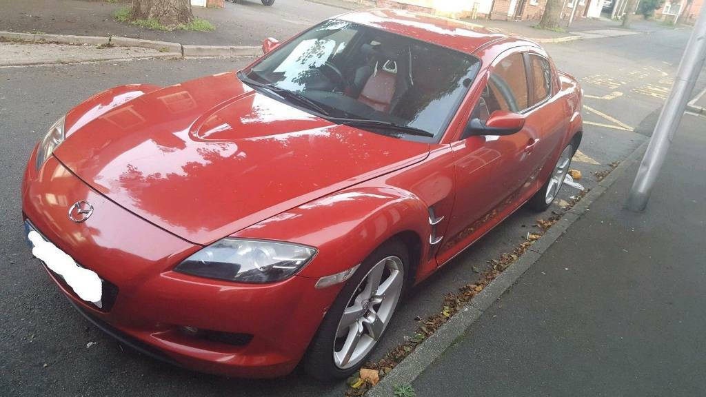 2007 Mazda RX-8 Red - 1.3 Engine, Leather Interior, Low Mileage