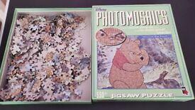 Winnie the Pooh Disney Photomosiacs 550+ piece Jigsaw Puzzle