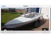 470 sailing dinghy Largs
