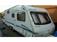 Swift Bowemere 590 2005 6 berth twin axle caravan with motor mover
