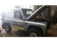 Landrover defender 90 13 reg spares/repairs