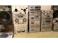 Wanted - vintage stereo equipment