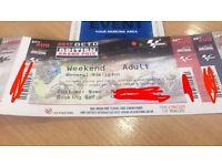 Moto GP Tickets x 2 with Parking @ Silverstone