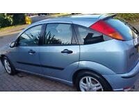 Ford focus zetec 12months mot central lock remote control key great drive 204plate cd player
