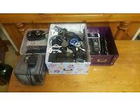 Large selection of items including chargers/USB/plugs/remotes/phones/freeview boxes