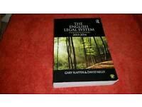 Law Book The English Legal System,4th Edition by Gary Slapper & David Kelly