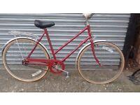 Vintage Hercules single speed bike