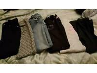 Selection of girls jean, trouser and leggings.