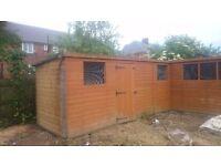 Shed / pigeon loft ,alloment