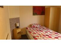 Large single furnished room available to rent in a 2 bedroom flat