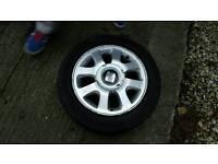 Seat arosa wheels