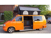 LWB VW T4 with Large Pop Top