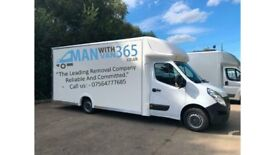 Man with Van ,365 Ltd. Iver's local Reliable Removal Company , Call us now for your move...