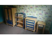 John Lewis Boy ' s / Toddler Furniture Pine & Blue