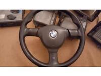 BMW e30 classics parts m sport steering wheel stereo radio fog lights