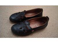 Ladies Black HOTTER Shoes size 5.5 UK