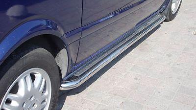 2 Walking Foot Flach Edelstahl Mercedes Vito V-Klasse W447 2014 + Fahrgestell