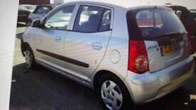 Kia picanto 2010 in silver and red