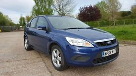 2009 Ford Focus 1.8 Style Low Mileage 62k New MOT, Full service History HPI Clear