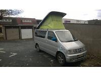 Ford Freda / Mazda Bongo4wd 2.5 Diesel pop top camper / dayvan