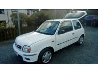 02 Nissan Micra 3 Door FULL History One Owner 2keys Nice car ( can be viewed inside Anytime