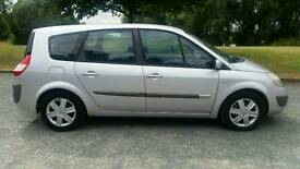 1 YEAR MOT***7 SEATER**RENAULT GRND SCENIC DYNAMIQUE DCI 1.9cc**DIESEL**SERVIC HISTORY***ALLOY WHEEL