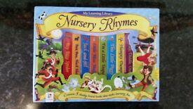 BOX SET OF 8 NURSERY RHYME BOOKS (NEW)