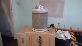 Carbon fibre filter