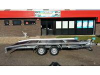 NEW CAR TRANSPORTER TRAILER 4,5m X 2,10m 2700 GVW/ 165/13R WHEELS