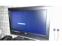 26 LG 26LC46 HD Ready Digital Freeview LCD TV (NO REMOTE)