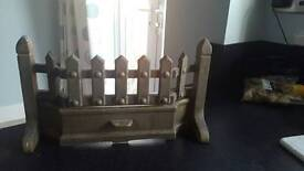 Traditional brass fire front