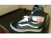 Vans mens size 9 as brand new condition