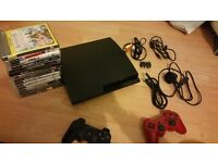 Quick Sale... Excellent condition PS3 with 14 games and Blu-ray movie and many extras