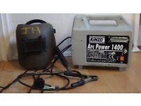 KINZO arc welder 140 amp +accessories