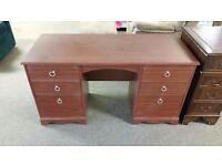 GREAT CONDITION! large 6 drawer wooden dressing table in classic design