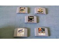 N64 games x5
