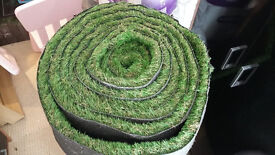 Artificial Grass 7.5m X 1m good quality (RRP £30 psm)
