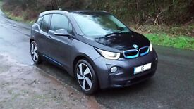bmw i3 eletric 2015 just 4625 miles done,leather interior,fast DC charging