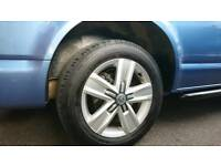 "Genuine VW T6 17"" Devonport Alloy Wheels and tyres."