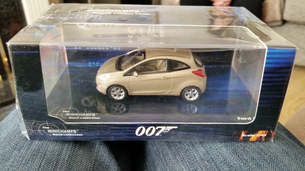 Minichamps   Ford Ka James Bond Quantum Of Solace Rare Boxedcast Model