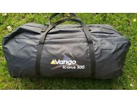 Hi for sale vango Icarus 500 5 man tent in good condition! can deliver or post! thank you!
