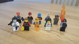 Lego mixed mini figures 10 figure bundle