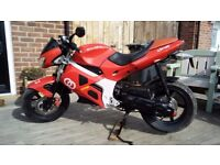 Gilera DNA 49cc Moped/Motorcycle - MOT Till 5th May 2018