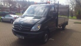 MERCEDES SPRINTER 313CDI 130BHP DROPSIDE WITH TAILLIFT AIR CONDITIONER