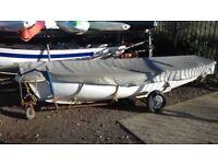 12 ft tender/ rowing boat