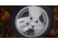 Ford Ka alloy wheels